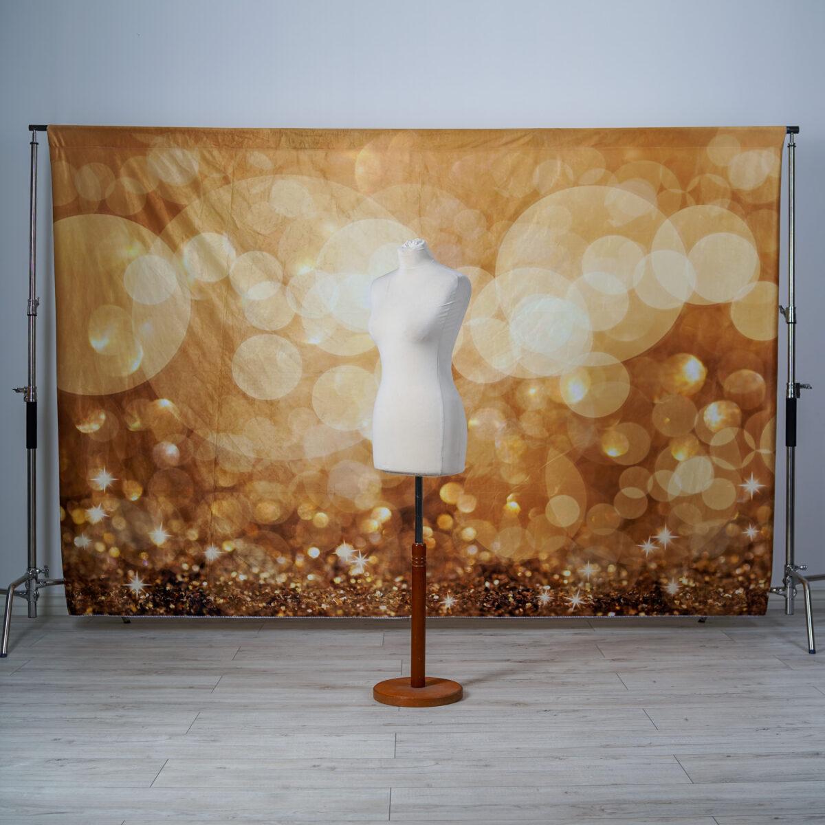 """Kate - """"Golden bokeh glitter"""""""